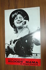 SHELLEY WINTERS ROGER CORMAN BLOODY MAMA 1970 RARE SYNOPSIS