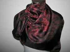 "NWT AUTHENTIC 100% SILK 34""X34"" FLORAL VALENTINO SCARF made in Italy"