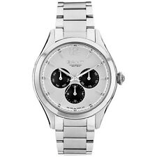 Gant Ladies Stainless Steel Watch Crawford W70572 White Face  New Boxed