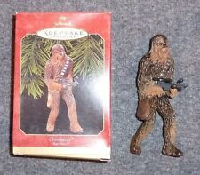 Hallmark Star Wars Chewbacca Christmas Ornament 1999