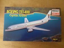 1:144 Minicraft no. 14464 Boeing 737-400 Cayman Airlines. Kit NIP