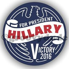 Hillary Clinton For President Victory 2016 Political Campaign Pin Pinback Button