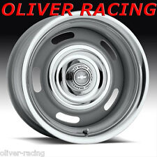 "15"" x 8""RALLY WHEEL FELGE STAHLFELGE  Rallye 5x4.5/4.75 LK Corvette Firebird GM"