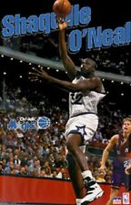 1995 Shaquille O'Neal Orlando Magic Original Starline Poster OOP