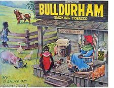 1900's African Bull Durham Tobacco Sign  Refrigerator  Magnet  NEW!