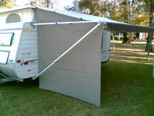 Shade Curtain/Privacy Screen for  caravan R/out Awning END  std size 2.4x2.1x1.9