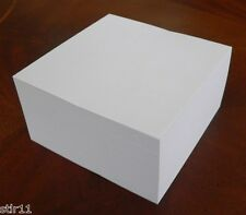 "Note Paper Refill Cube - Padded/Glued - ""Great for your Paper Holder"" 4"" x 4"""