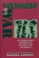 Women on War: An International Collection of Writings from Antiquity to the Pres