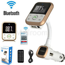 Bluetooth FM Transmitter Auto MP3 Musik Player LCD Modulator USB Fernbedienung