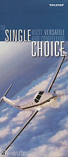 Prospekt Folder Flugzeug Pilatus PC-12, 12/00, single choice brochure prospectus