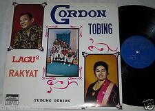 GORDON TOBING Lagu Rakyat Tudung Periuk LP Indah Rec. INDONESIA Rare FOLK !!!