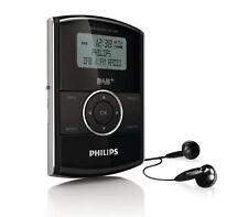 Philips DA1200 portable poche dab radio dab + fm sports de poche rechargeable