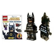 LEGO BATMAN DK VISUAL DICTIONARY BRAND NEW SEALED WITH ELECTRO SUIT MINIFIGURE