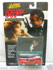 Johnny Lightning James Bond 007 Ford Mustang Fastback NIP Diamonds are Forever