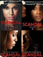 Scandal ALL Season 1-4 Complete DVD Set Collection Series TV Show Episode Bundle