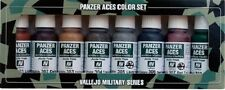 VALLEJO MODEL COLOR ACRILICO 70122 - PANZER ACES PAINT SET 1