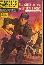 Classics Illustrated #95 All Quiet on the Western Front (May 1952, Gilberton)