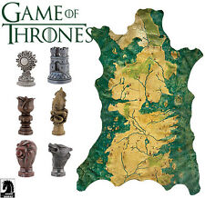 GAME OF THRONES - Map Marker Set with Westeros Map (Dark Horse Comics) #NEW