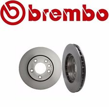 Set of 2 Genuine Brembo 25716 & 25717 Front Brake Rotors Cayenne Touareg