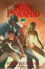 The Red Pyramid by Rick Riordan (2011, Paperback) The Graphic Novel Disney  NEW
