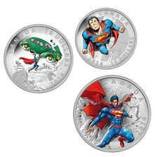2014 Iconic Superman Comic Book Cover Silver Coins $10 $15 $20 [Mint] NEW
