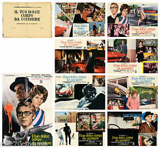 IL TUO DOLCE CORPO DA UCCIDERE SET FOTOBUSTA COMPLETO USATO 8+SOGG THRILLER 1970