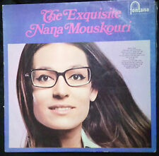 THE EXQUISITE NANA MOUSKOURI - VINYL LP AUSTRALIA