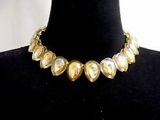 AUTHENTIC J CREW JEWELED TEARDROP CRYSTAL NECKLACE  NWT #F2809