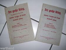 1914 la grande guerre actes dépêches appelant Frankfurter journal Cahier 1 u 2