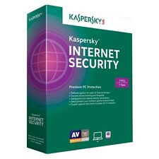 Kaspersky Internet Security 2015 for 3PCs KIS1503121USZZ - Retail Latest Version