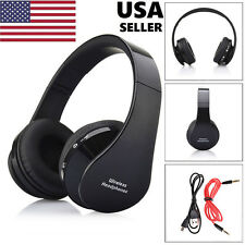 Foldable Wireless Bluetooth Headset Stereo Headphone Earphone for Phone PC I