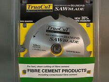 FIBRE CEMENT DiamondSAW BLADE-Cuts Hardie Prods-125mm