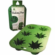 POT LEAF - SILICONE BAKEWARE - BRAND NEW STONERWARE WEED MARIJUANA BAKING 00748