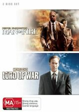 Man on Fire / Lord of War (DVD, 2008, 2-Disc Set) New DVD Region 4 Sealed