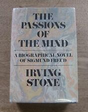 SIGNED - PASSIONS OF THE MIND by Irving Stone - 1st HCDJ 1961 -Sigmund Freud bio