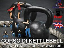 Kettlebell Training Dvd Corso di 2 DVD Fitness Dvd Bodybuilding Mma Kettle Bell