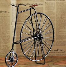 Retro Vintage Black Bike Bicycle Model Home Decor Table Decoration Ornament Toy