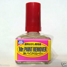 Mr Hobby Gunze Sangyo GSI Creos Paint Remover R 40ml T114 Model Kit Color Bottle