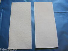 Hook and Loop Sheets~Self Adhesive~White~8 x 19cm app~Cut~Dot~Square~Wide Strips