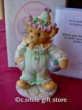 Cherished Teddies Halloween *JEANETTE* Enesco 118386 MIB w/FREE BUTTON RARE!!