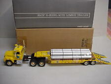 PENN DOT PA MACK TRUCK -R  LOWBOY WITH  PIPE LOAD RARE FIRST GEAR RARE