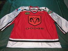 Dodge Nascar Kasey Kahne #9 Adult XL Sewn PATCH Hockey Style Jersey