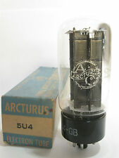 One Japan made Arcturus 5U4GB Rectifier tube - TV7D tested @ 60/59, min:40/40