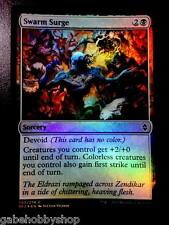 SWARM SURGE (FOIL) Battle For Zendikar Magic MTG cards (GH)