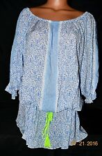 Victorias Secret Adorable Beach Sexy Swim Cover Up Beach Tunic Top NWT L