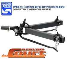 "NEW Hayman Reese 600lb 275kg Round bars 6"" compatable Weight Distribution Hitch"