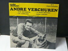 ANDRE VERCHUREN Alma sentimental AV4 PROMO INTERDIT VENTE ( Musette accordeon )