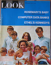SHIPPED IN A BOX -  Look Magazine June 25 1968 The Kennedys