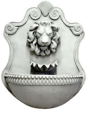 """Lion and Shell Wall fountain 35"""""""