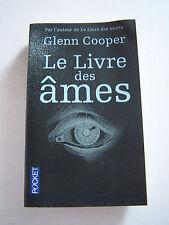 ROMAN . THRILLER . LE LIVRE DES AMES DE GLENN COOPER  . 470  PAGES .